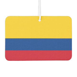 Car Air Fresheners with Flag of Colombia