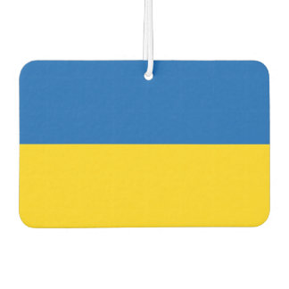 Car Air Fresheners with Flag of Ukraine