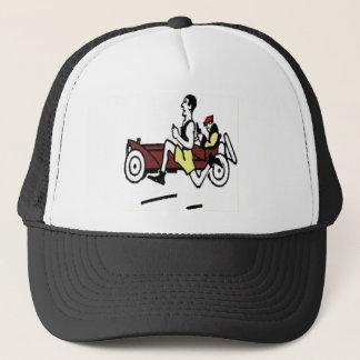 CAR AND RUNNER TRUCKER HAT
