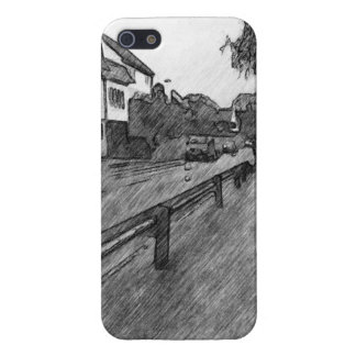 car and traffic drawing covers for iPhone 5