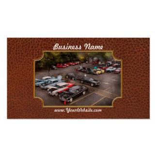Car - Antique car show Business Cards