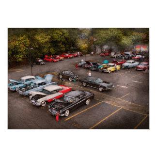 Car - Antique car show Card