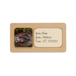 Car - Antique car show Label