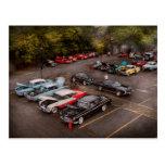 Car - Antique car show Postcard