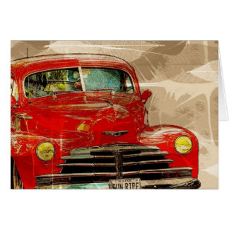 Car Antique Truck All Occasion Greeting Card