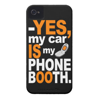 Car as a Phone Booth Blackberry Curve case iPhone 4 Case