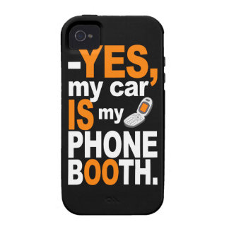 Car as a Phone Booth iPhone 4 case-mate