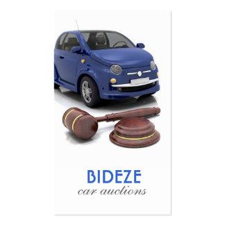 Car Auction Business Card