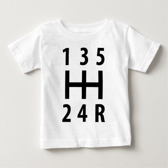 car auto gear shift 5 baby T-Shirt