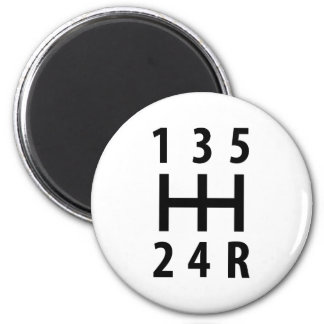 car auto gear shift 5 magnet