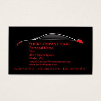 Car Automotive Service Sales Business Cards