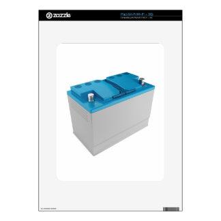Car battery skin for iPad