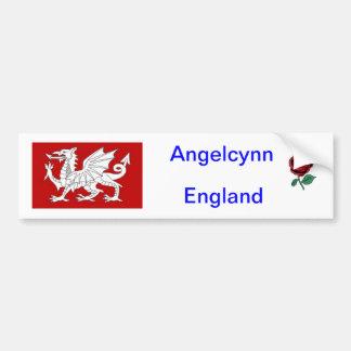 Car Bumper sticker - England