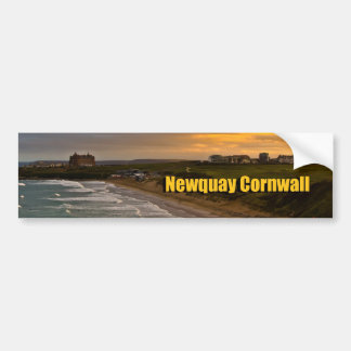 Car Bumper Sticker Newquay Cornwall