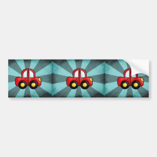 Car cartoon car bumper sticker