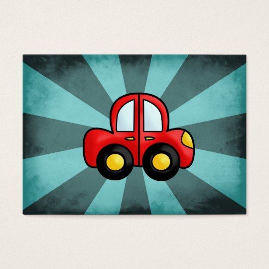 Car Cartoon Business Card
