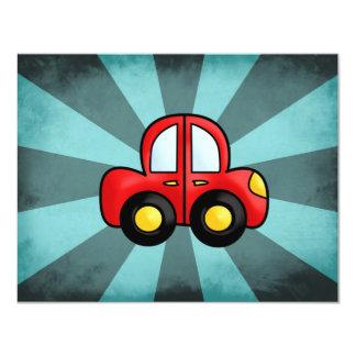 Car cartoon card