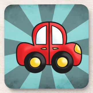 car cartoon coasters