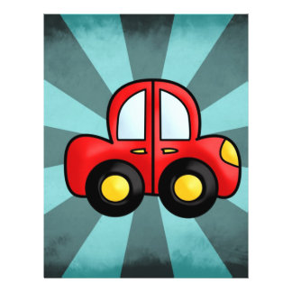 Car Cartoon Flyer