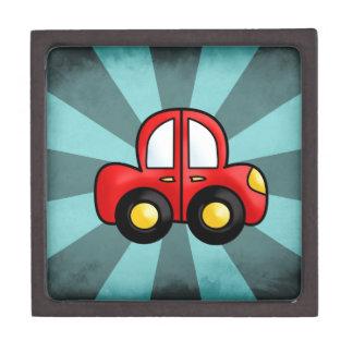 car cartoon jewelry box