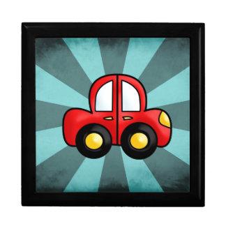 car cartoon keepsake box