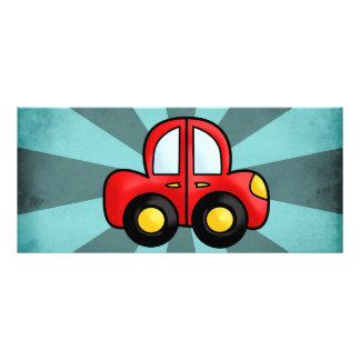 Car Cartoon Rack Card