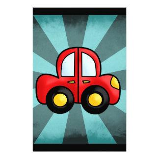 car cartoon stationery