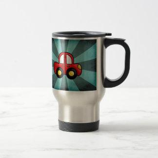 car cartoon travel mug