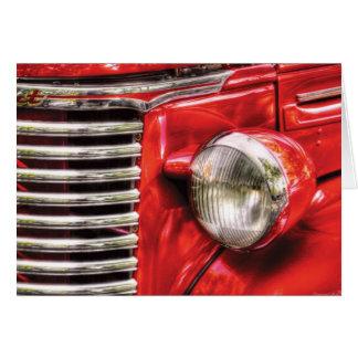 Car - Chevrolet Card