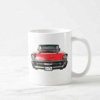 Car Chevy57-02Frt Classic White Coffee Mug