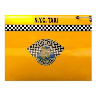 Car - City - NYC Taxi Postcard