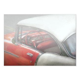 "Car - Classic 50's 5"" X 7"" Invitation Card"
