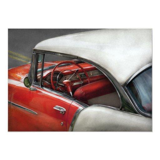 Car - Classic 50's Invitations