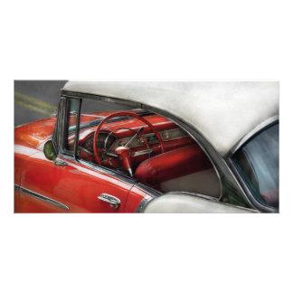 Car - Classic 50's Photo Card Template