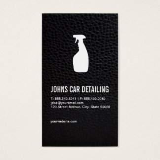 Car Cleaning Business Card
