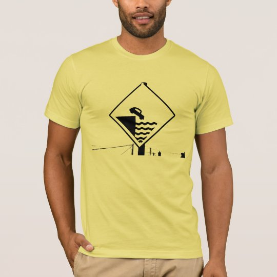 car-cliff sign T-Shirt