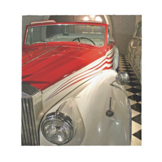 Car collection in The Liberace Foundation and Notepad