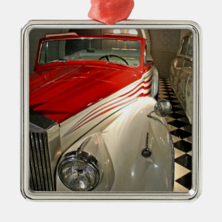 Car collection in The Liberace Foundation and Christmas Ornaments