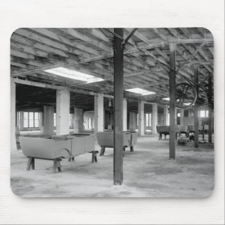 Car Company Factory, 1920s Mouse Pad