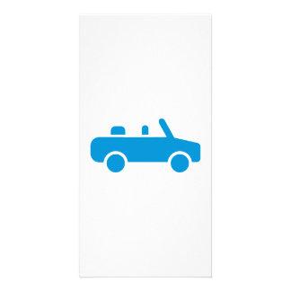 Car convertible photo card