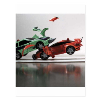 car-crash post cards