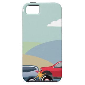 Car crash rear ended vehicle Vector iPhone SE/5/5s Case