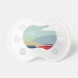 Car crash rear ended vehicle Vector Pacifier