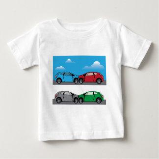 Car Crash vector Baby T-Shirt