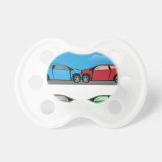 Car Crash vector Pacifier
