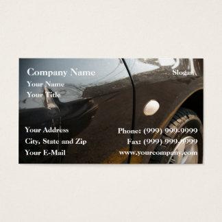 Car damage business card