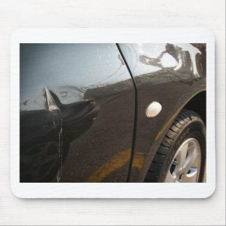 Car damage mouse pad