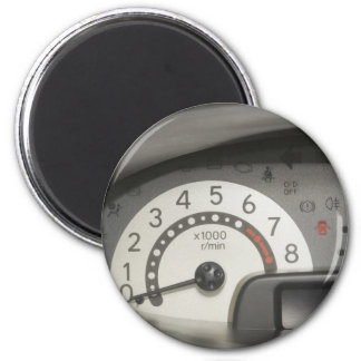Car dashboard magnet