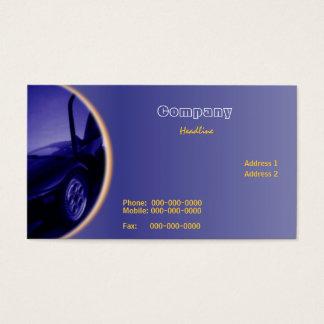 Car Dealer Business Card