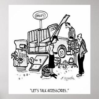 Car Dealer Cartoon 3162 Poster